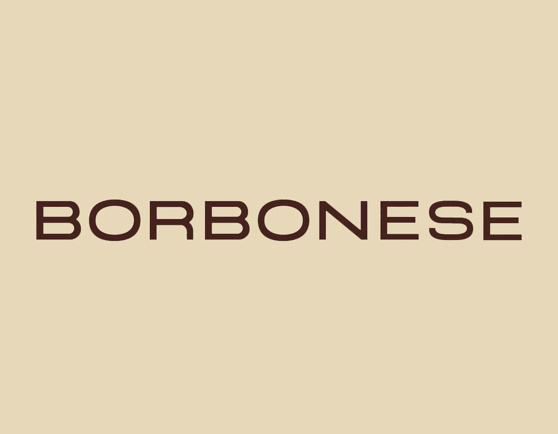 Sezione del sito del brand di Borbonese